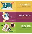 Business Process Management vector image