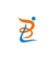 bl lb icon vector image