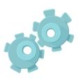 Cogwheel icon cartoon style vector image vector image