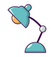 desk lamp icon cartoon style vector image