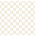 golden abstract pattern in arabian style seamless vector image