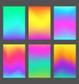modern gradients smartphone screen backgrounds vector image vector image