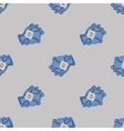 Pattern of spare part water pump vector image vector image