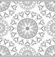 seamless pattern vintage elements vector image vector image