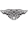 taurus tribal vector image