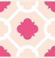 tile decorative floor tiles pink pattern vector image vector image