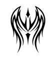 tribal wing vector image vector image