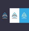 water home logo design vector image vector image