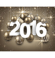 2016 paper christmas sign vector image vector image