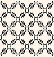 abstract floral seamless pattern monochrome vector image vector image