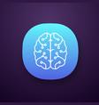 ai app icon vector image