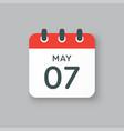 calendar day 7 may days year