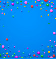 colorful abstract dot background vector image
