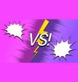 explosive rivalry background vector image vector image