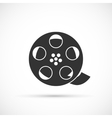Film reel icon vector image