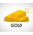 gold bars vector image vector image