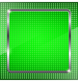 Green fluorescent background vector image vector image