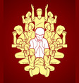 group of people praying christian praying vector image vector image
