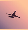 isolated airliner airplane