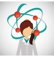 scientific laboratory worker concept vector image vector image