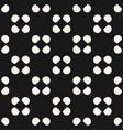 seamless circles pattern polka dot texture vector image