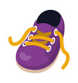 shoes clothing cartoon vector image vector image