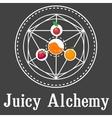 Juicy Alchemy vector image