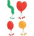 balloon collection children vector image vector image