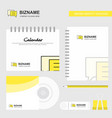 chat bubble logo calendar template cd cover diary vector image