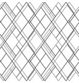cross lines seamless pattern hatch vector image vector image