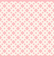 seamless pattern in trendy pastel colors pink and vector image vector image