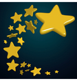 stars night vector image vector image
