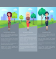 successful woman business lady vector image