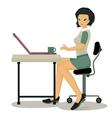 Working women vector image vector image