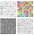100 success icons set variant vector image vector image