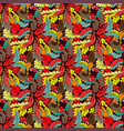 abstract colored seamless pattern for your design vector image