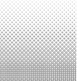 Black and white line octagon pattern vector image vector image