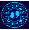 horoscope love vector image vector image