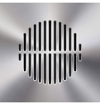 Music Metal Audio Speaker vector image vector image