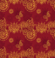 seamless background with Indian patterns vector image vector image