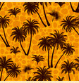 tropical palms seamless vector image vector image