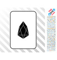eos card with bonus vector image vector image