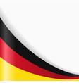 german flag background vector image