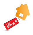 House For Sale Paper Icon Isolated on White