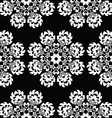 Seamless floral Polish folk art pattern vector image vector image