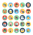 Real Estate Icons 3 vector image