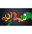 chinese new year dragon vector image
