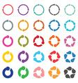 25 arrow pictogram refresh reload rotation loop vector image