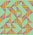 abstract truchet geometric seamless pattern vector image vector image