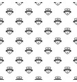 badge knight pattern seamless vector image vector image
